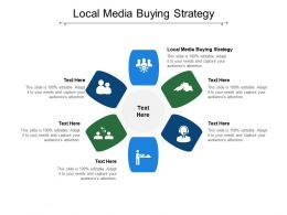 Local Media Buying Strategy Ppt Powerpoint Presentation Icon Elements Cpb