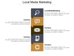 Local Media Marketing Ppt Powerpoint Presentation Gallery Graphics Design Cpb