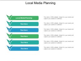 Local Media Planning Ppt Powerpoint Presentation Icon Cpb