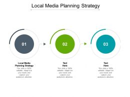 Local Media Planning Strategy Ppt Powerpoint Presentation Inspiration Backgrounds Cpb