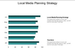 Local Media Planning Strategy Ppt Powerpoint Presentation Outline Good Cpb