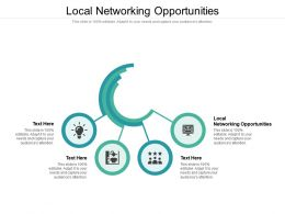 Local Networking Opportunities Ppt Powerpoint Presentation Outline Graphics Cpb