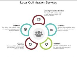 Local Optimization Services Ppt Powerpoint Presentation Pictures Icons Cpb