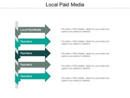 Local Paid Media Ppt Powerpoint Presentation Styles Graphics Design Cpb