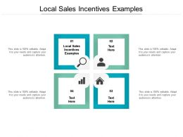 Local Sales Incentives Examples Ppt Powerpoint Presentation Inspiration Guidelines Cpb