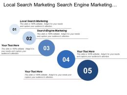 Local Search Marketing Search Engine Marketing Email Marketing