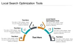 Local Search Optimization Tools Ppt Powerpoint Presentation File Structure Cpb