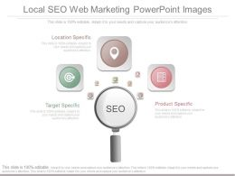 Local Seo Web Marketing Powerpoint Images