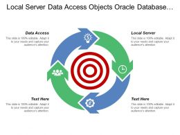 Local Server Data Access Objects Oracle Database Create Lead