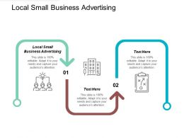 Local Small Business Advertising Ppt Powerpoint Presentation File Vector Cpb