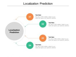 Localization Prediction Ppt Powerpoint Presentation Summary Deck Cpb