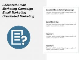 Localized Email Marketing Campaign Email Marketing Distributed Marketing Cpb