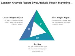 Location Analysis Report Swot Analysis Report Marketing Plans