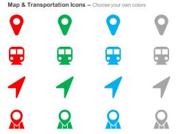 location_arrow_map_marker_subway_places_optimizations_ppt_icons_graphics_Slide02