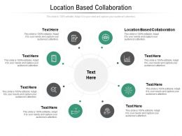 Location Based Collaboration Ppt Powerpoint Presentation Pictures Graphics Download Cpb