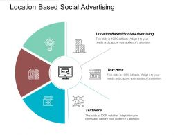 Location Based Social Advertising Ppt Powerpoint Presentation Gallery Backgrounds Cpb