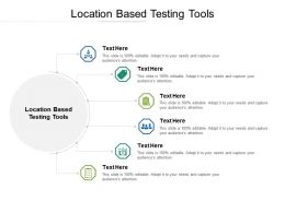 Location Based Testing Tools Ppt Powerpoint Presentation Summary Tips Cpb