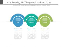 Location Devising Ppt Template Powerpoint Slides