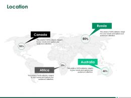 Location Geographical A254 Ppt Powerpoint Presentation Infographic Template Graphics Template