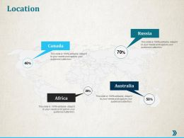 Location Geographical Ppt Professional Infographic Template