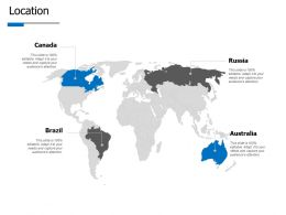 Location Geography E426 Ppt Powerpoint Presentation Infographics Outline