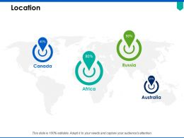 Location Geography Information C311 Ppt Powerpoint Presentation Pictures Styles