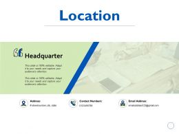 Location Headquarter K194 Ppt Powerpoint Presentation Gallery Images