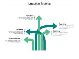 Location Metrics Ppt Powerpoint Presentation Portfolio Master Slide Cpb