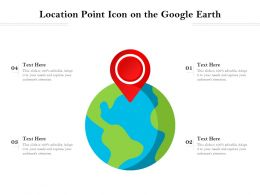 Location Point Icon On The Google Earth