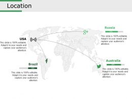 Location Powerpoint Slide Presentation Examples
