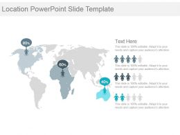 Location Powerpoint Slide Template
