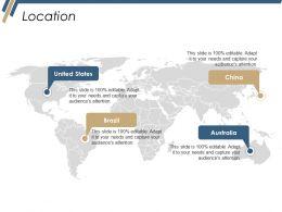 Location Ppt Diagrams