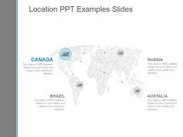Location Ppt Examples Slides