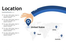Location Ppt Infographic Template Picture