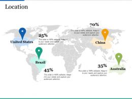 Location Ppt Infographics Graphics Example