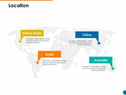 Location Ppt Powerpoint Presentation Pictures Graphics Example