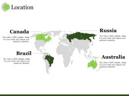 Location Ppt Visual Aids Infographic Template