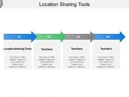 Location Sharing Tools Ppt Powerpoint Presentation Slides Brochure Cpb
