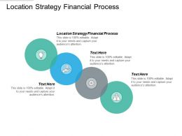 Location Strategy Financial Process Ppt Powerpoint Presentation Pictures Rules Cpb