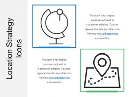 Location Strategy Icons
