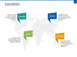 Location Trade Exhibition Ppt Powerpoint Presentation File Example