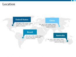 Location United States Brazil China Australia Ppt Background Designs