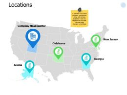 Locations Map Marketing I251 Ppt Powerpoint Presentation Infographics Gallery