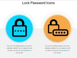 Lock Password Icons