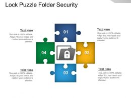 Lock Puzzle Folder Security