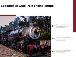 Locomotive Coal Train Engine Image