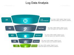 Log Data Analysis Ppt Powerpoint Presentation Show Visuals Cpb