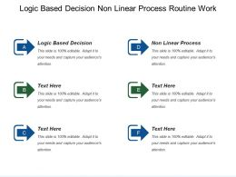 Logic Based Decision Non Linear Process Routine Work