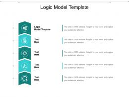 Logic Model Template Ppt Powerpoint Presentation Layouts Ideas Cpb