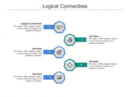 Logical Connectives Ppt Powerpoint Presentation Model Backgrounds Cpb